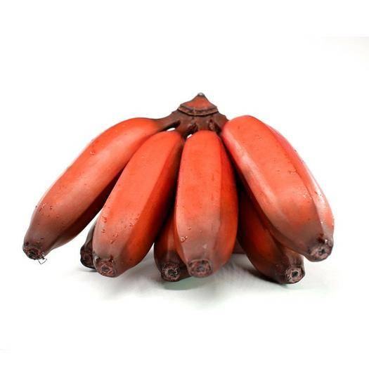 福建省漳州市南靖县 应季 红香蕉微商水果一件代发 福建美人蕉 新鲜红美人红皮香蕉