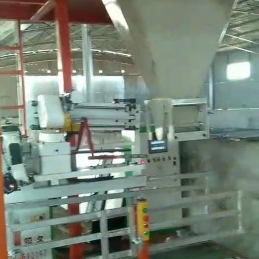 河北省衡水市阜城县有机肥生产设备 粉状有机肥全自动包装城。