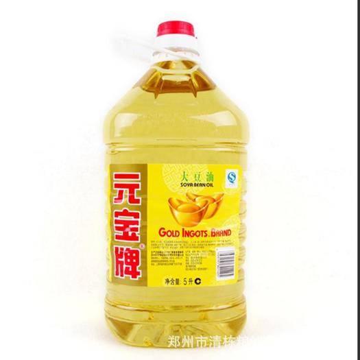 河南省郑州市中原区 大豆油元宝食用油