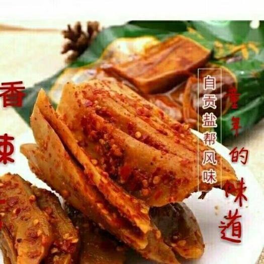 四川省成都市金牛區腌制大頭菜 老媽手撕大頭菜
