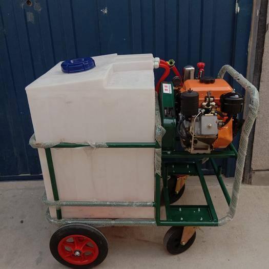 山東省臨沂市蘭山區手推式打藥機 200升出口級新款打藥車柴油機款