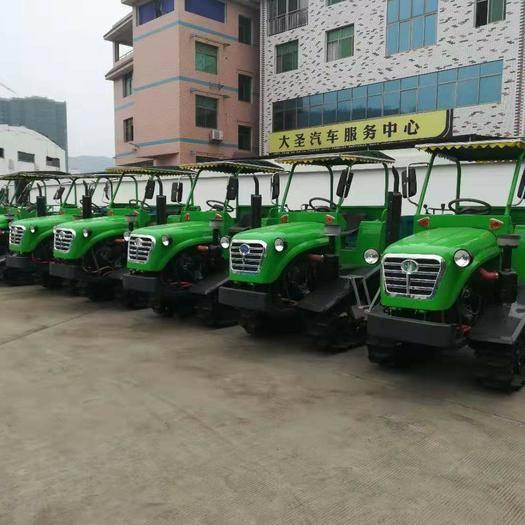 湖南省常德市漢壽縣 宗南牌75馬力的方向盤式履帶式拖拉機
