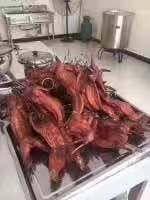 安徽省蚌埠市淮上區冷吃兔肉 烤兔肉