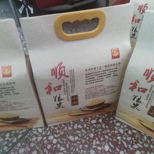 河南省鄭州市鞏義市 紅土地中長出的小米味道香,口感好