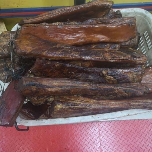 湖北省宜昌市伍家崗區五花臘肉 高等級的臘五花肉