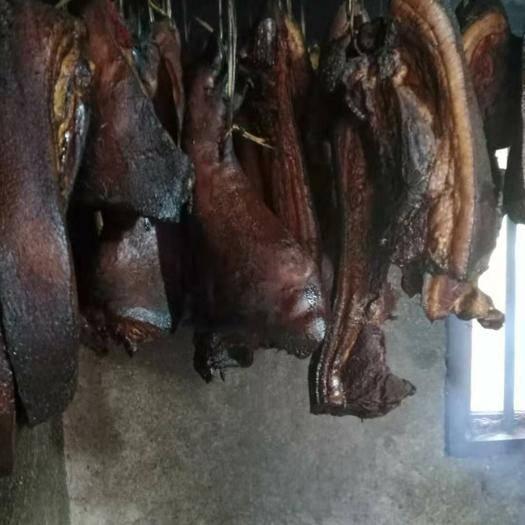 貴州省畢節市黔西縣 原生態本地黑土豬臘肉,無添加劑喂養,飼養周期12個月以上!