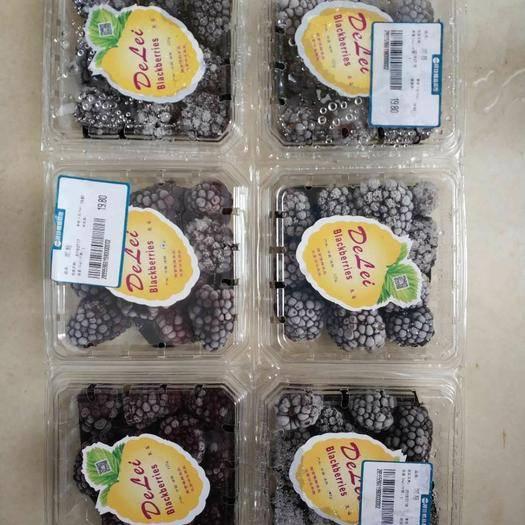 河南省鄭州市金水區 大量供應有機種植新鮮無污染黑莓凍果