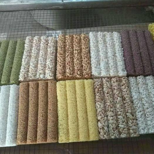 河南省周口市鹿邑縣米花糖 大米、小米、紫米、綠豆糕、麥花、泰國香米、云南黃米、薏米等!