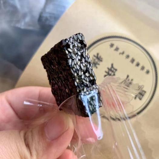 吉林省白山市抚松县 特制黑芝麻糕500g养发养肾营养好吃到哭的零食包邮