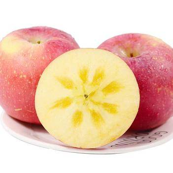 紅富士蘋果 山西紅富士冰糖心脆甜大果85-110mm原產地直供應季水果