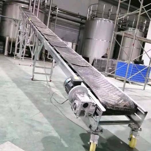 河南省鄭州市中原區 輸送皮帶滾筒輸送機小型可折疊家用電動裝卸貨可定制