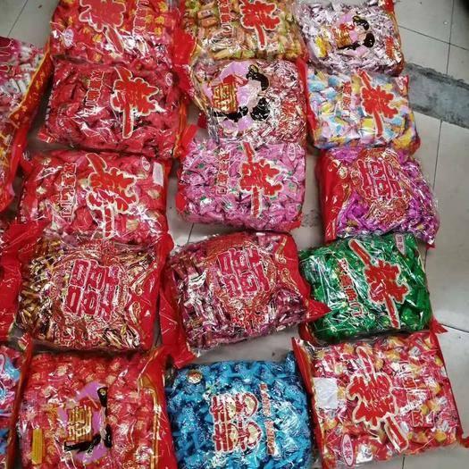四川省成都市金牛區 糖果批發 硬糖、軟糖 都有,每包5斤,100斤起發貨!