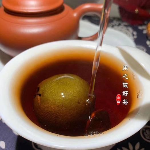 福建省泉州市安溪縣 小青柑普茶王一斤600塊錢