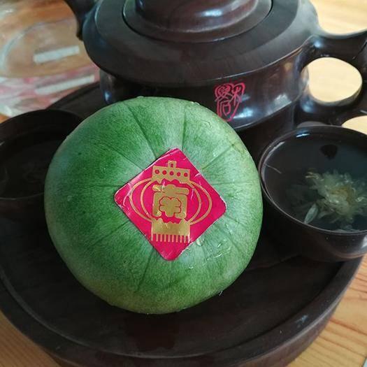 遼寧省錦州市北鎮市脆寶甜瓜 東北綠寶石甜香瓜5.5斤/箱 甜脆 皮瓤同吃 一件代發/包郵