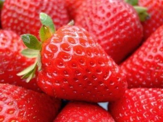山西省运城市绛县 山西草莓,奶油草莓!
