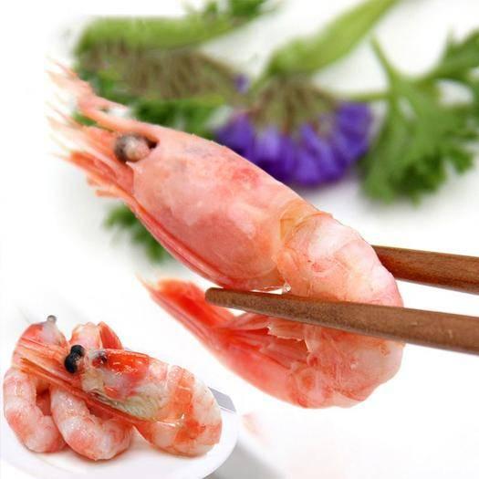 山东省青岛市崂山区北极虾 北极甜虾