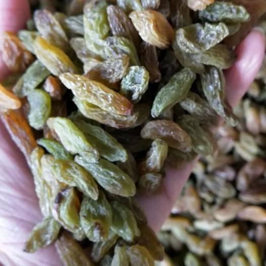新疆維吾爾自治區博爾塔拉蒙古自治州精河縣 綠香妃葡萄干個頭可以,口感不澀 跳樓價