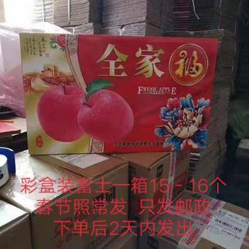 紅富士蘋果 【禮盒裝包郵】紅富士禮盒裝雙層(15-16個)包郵饋贈佳品