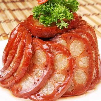 培根 桂花糯米藕