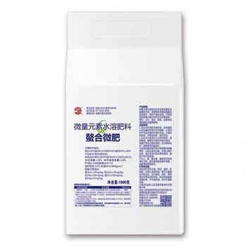 微量元素葉面肥 立占科奇13.7%螯合微肥 葉面肥 1000克