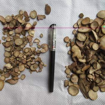 自然环境生长无农残化学残留,川赤芍,生白芍,黑白芍机器片