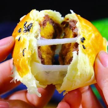 广西北海海鸭蛋蛋黄酥 月饼 糕点 皮酥细滑 口感Q弹 1盒6