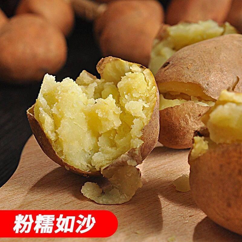 [土豆批发] 云南土豆新鲜现挖红皮黄心土豆10斤5斤 新鲜小土豆洋芋农家价格15元/箱