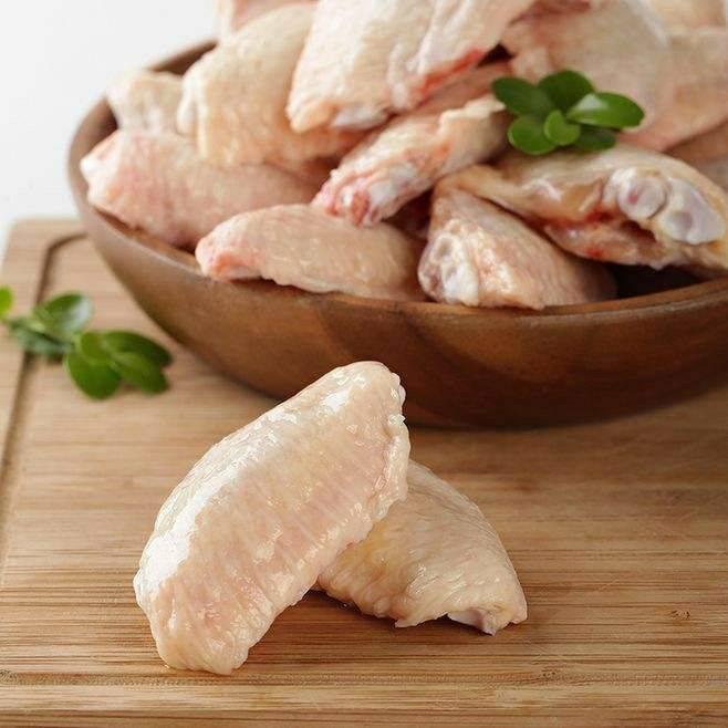 [翅中批发] 新鲜冷冻生鸡翅中 冷冻鸡翅中 鸡中翅 生鲜鸡翅膀4斤多省顺丰价格25元/斤