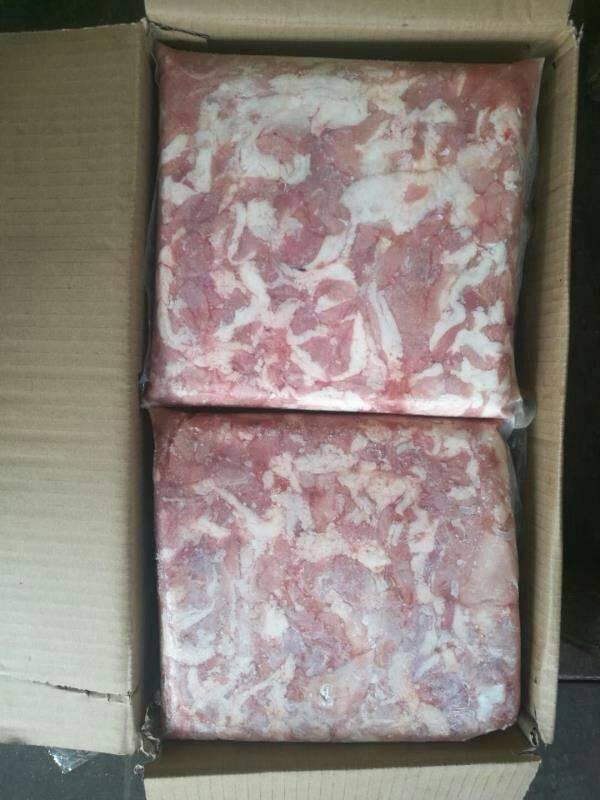 [鸡胸肉批发]鸡胸肉 鸭胸碎肉价格2.7元/斤