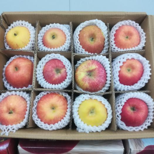 廣東省深圳市龍崗區 正宗阿克蘇冰糖心蘋果12顆大果禮盒裝約8斤廣東省內包郵