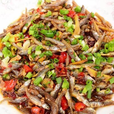 江西省九江市潯陽區 油炸小魚干公魚干不破肚無鹽5厘米左右魚干