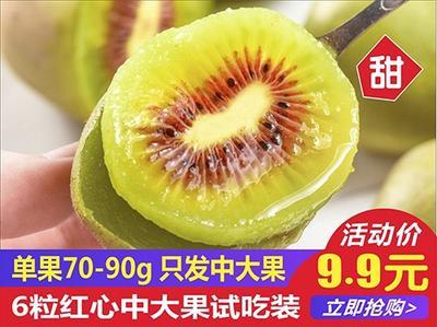 四川省成都市蒲江縣 8月中旬紅心獼猴桃 5斤裝 30粒紅心獼猴桃