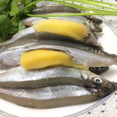 廣東省潮州市饒平縣凍多春魚 滿籽多春魚,條條爆籽