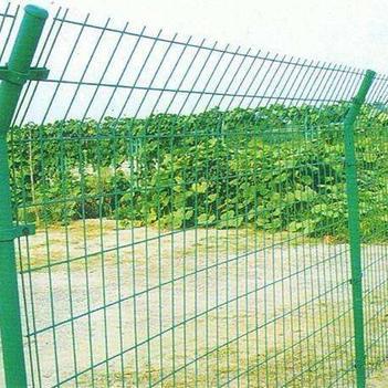 護欄網/圍網 雙邊絲圍網圈地網高速公路圍欄網1.8米高3米長一套,帶立柱