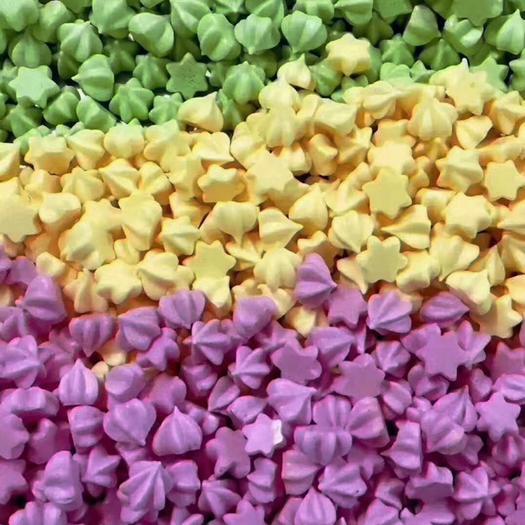 福建省厦门市海沧区 本产品是果蔬溶豆都是蔬菜汁制作的,没有任何添加剂