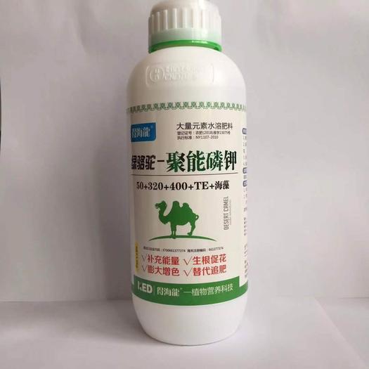 山东省潍坊市奎文区叶面肥料 绿骆驼聚能磷钾  生根促花膨果 替代追肥佳品