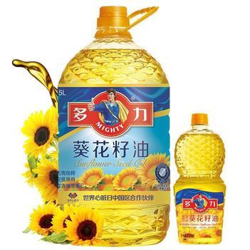 多力葵花籽油一级食用油非转基因家用压榨油 特价全场包邮