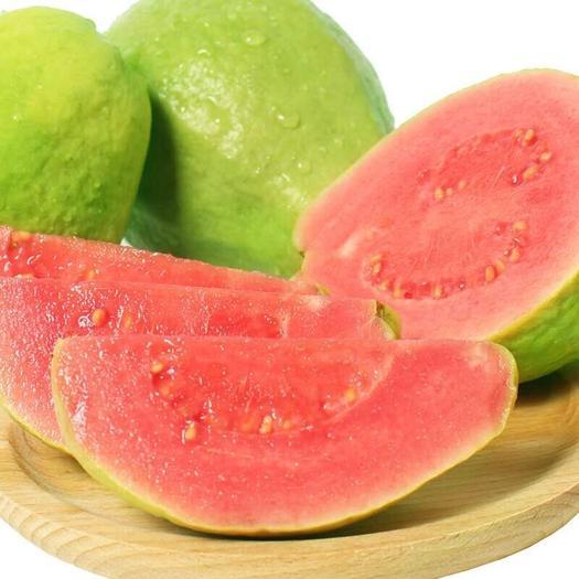 海南省三亚市天涯区 番石榴 海南红心番石榴 新鲜当季水果 果园直销 特价包邮