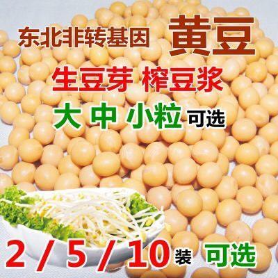 黑龙江省绥化市海伦市有机黄豆 2019年新豆东北大黄豆生豆芽打豆浆非转基因农家自产 包邮