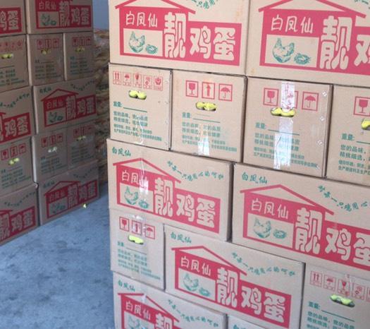 廣東省汕頭市澄海區土雞蛋 食用 箱裝