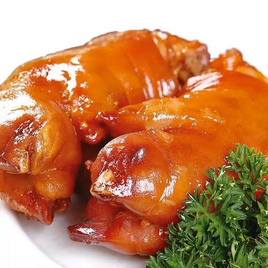 河南省洛陽市嵩縣鹵豬蹄 宗豬蹄熟食真空鹵味零食五香豬蹄豬手豬腳豬爪特產即食小吃