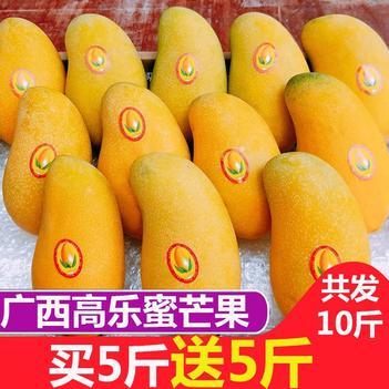 【特价包邮】广西高乐蜜芒当季新鲜水果类大芒果甜心芒果批发包邮