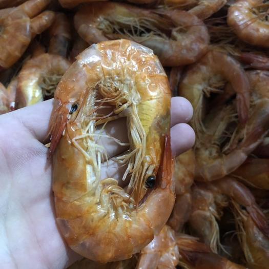 山東省威海市榮成市對蝦干 魯鱽漁夫海蝦干500g含袋炭烤蝦對蝦脆蝦即食海鮮干貨零食補鈣
