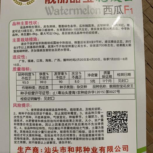 江西省赣州市章贡区 西瓜种子