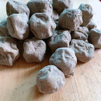 農家青杠材灰豆腐果