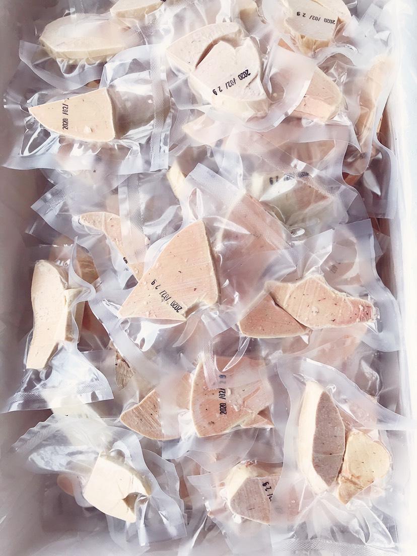 [鹅肝批发] 法式鹅肝儿童切片价格8元/包