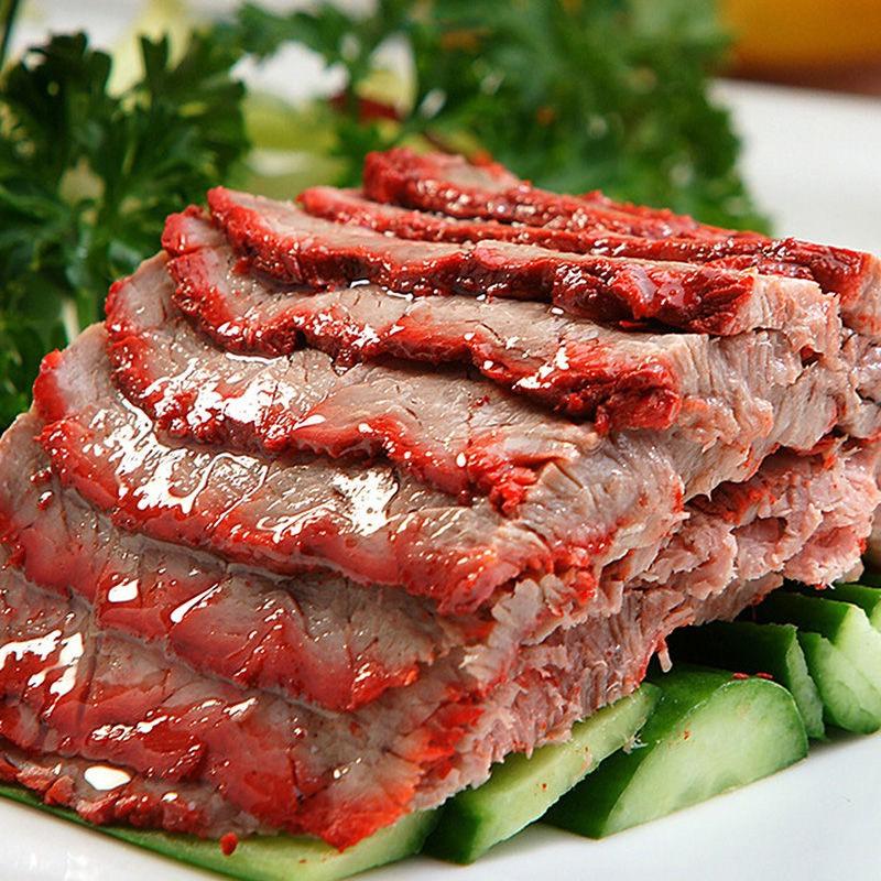 [牛腱子肉批发] 农家新鲜屠宰黄牛牛腱子肉新鲜火锅食材2500g价格200元/斤