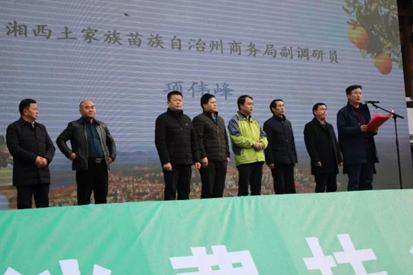 湘西泸溪电商年货节开幕,网红助力农产品销售!