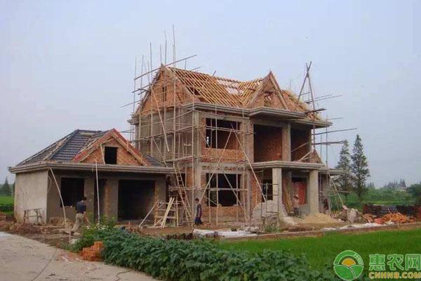 农村建房注意事项