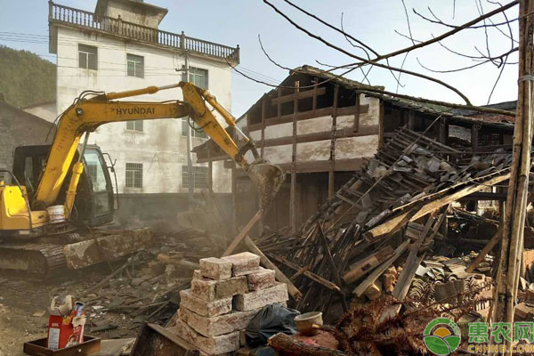 农村房屋拆除